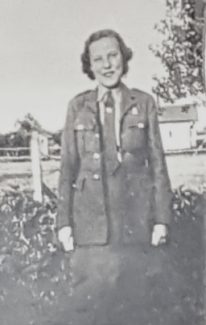Joan Bowyer in her army uniform 1940. | Janet Penston