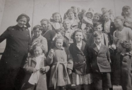 Salvation Army Group Approx. 1950.