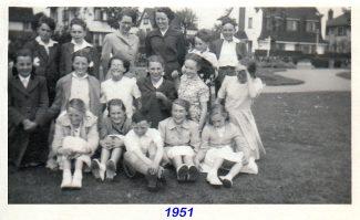 Joyce in Singing Festival Miss Burge & Miss Williams, Leigh on Sea June 1951 | Joyce Butt née Tyler