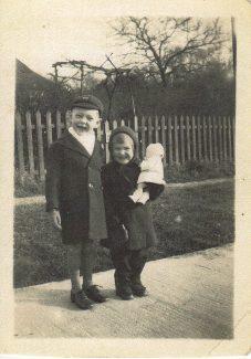 Don & I on Northumberland Avenue 1943 | Joyce Butt née Tyler