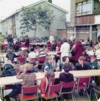 Queen's Silver Jubliee street party, Woolmergreen 1977. | Nina Humphrey (nee Burton).