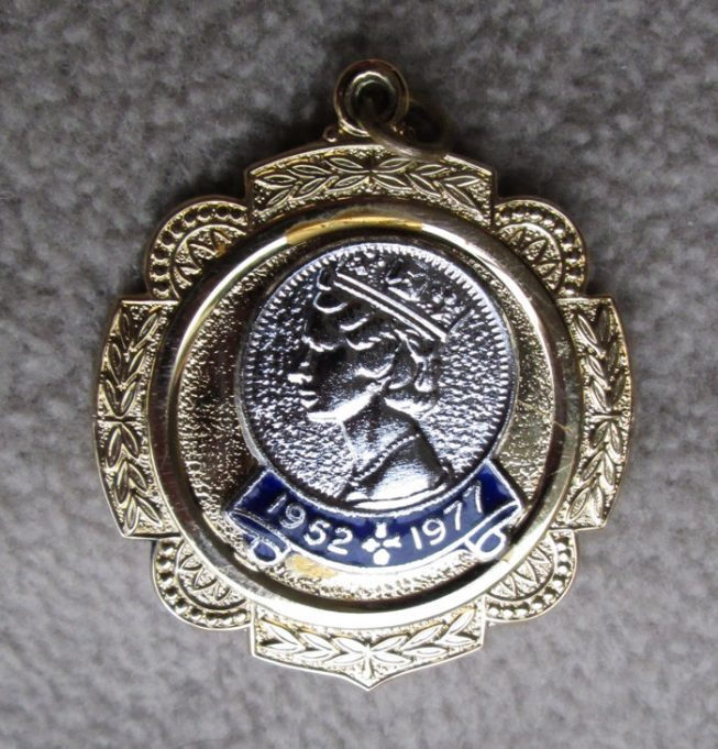 Commemorative medallion, a gift from Chowdhary Infants School.. | Nina Humphrey