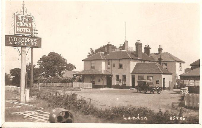 Crown Sign at Langdon Hills