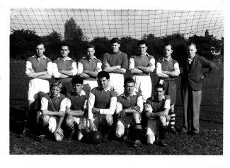 1952-53 LAC Team | Sid Rose
