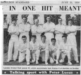 Picture Memories of Laindon Cricket Club
