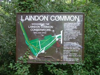 Laindon Common Plan | Ken Porter