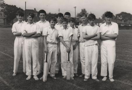 Laindon High Road School Cricket Team.