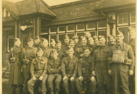 Laindon Home Guard and ARPs