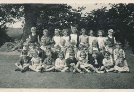 Laindon Park Mrs Card's class about 1954
