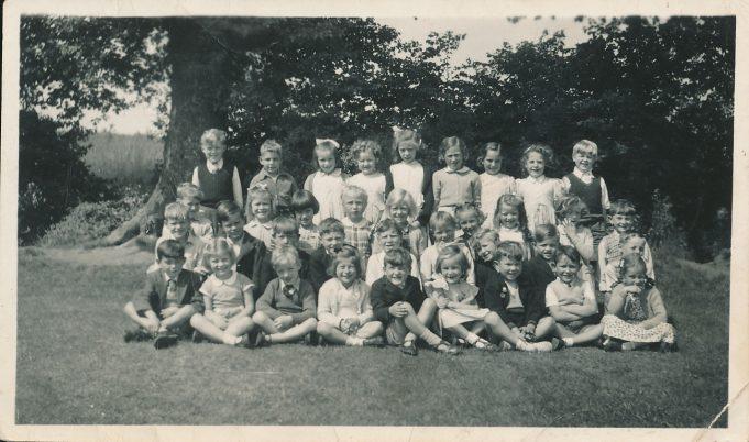 Laindon Park Mrs Card's class about 1954