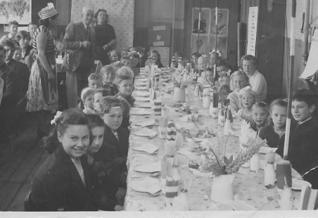 Coronation Tea Laindon Park School 1953