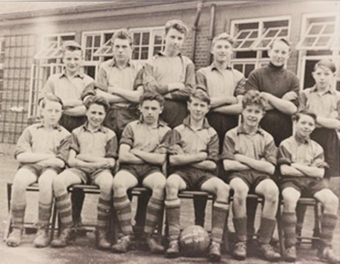 Laindon High Road School Football Team | June Higgs (née Ferguson)