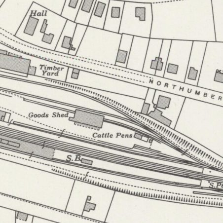 Laindon Station and Goods Yard. | Ordnance Survey. c.1947