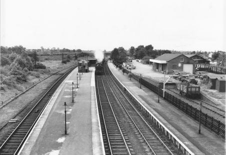 Laindon Station and Goods Yard.