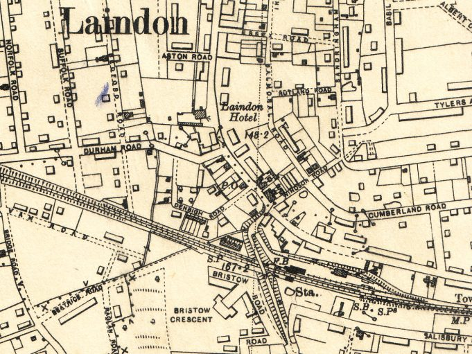 N0  12  Laindon map 1938 | Ordnance Survey Office