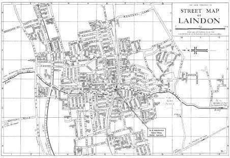 Laindon Map