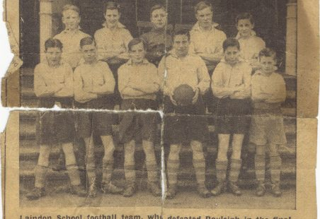 Laindon School Football Team