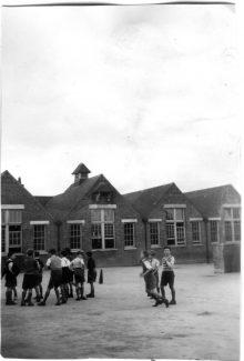 Children at play - Langdon Hills Primary School circa 1947