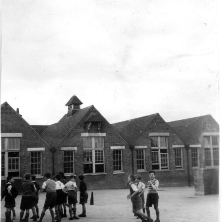 Children at play - Langdon Hills Primary School circa 1947