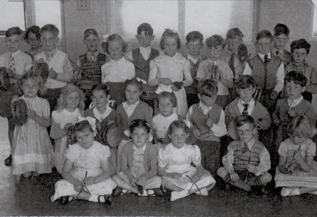 Langdon Hills Primary School Band 1951/52?