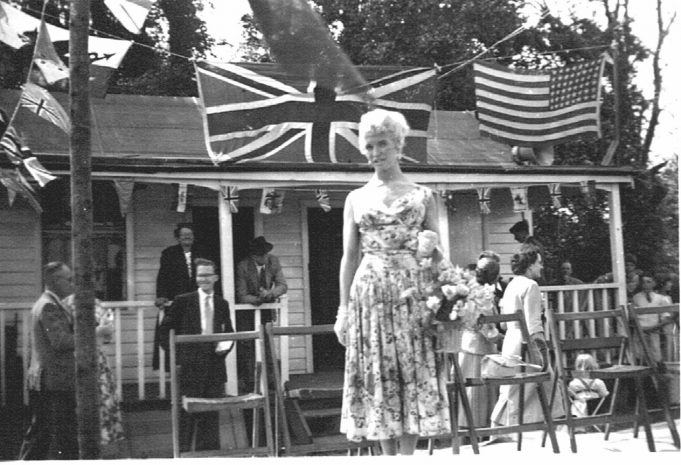 Vera Day - Langdon Cricket Cub Fete May 1956