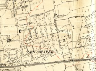 1938 map of the same area. | Ordinance Survey Office