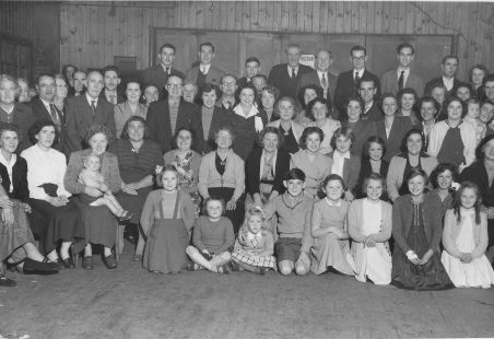 Lee Chapel Social Club 1955.