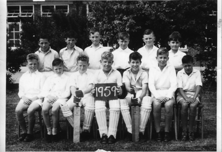 Markhams Chase Cricket Team 1959
