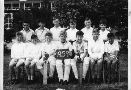 Markhams Chase Cricket Team 1959