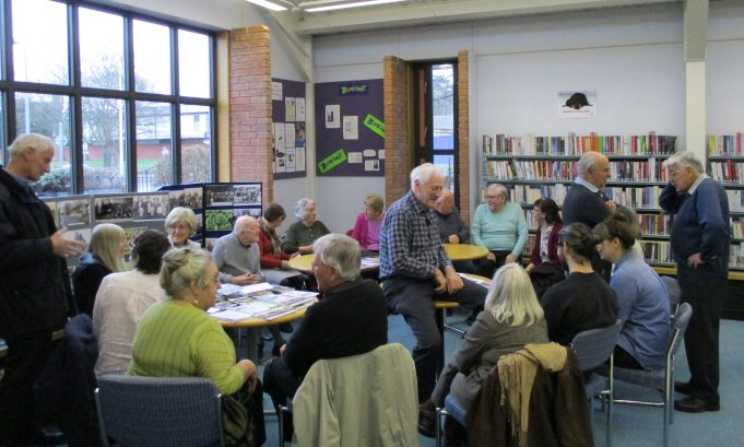 Memory Day at Laindon Library 25th February 2017 | Colin Humphrey