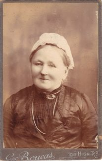 Maria Mihill nèe Hayden 1836 - 1922.