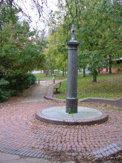 Memorial and Fountain | Ken Porter - 2004