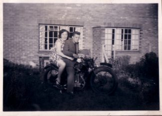 Mystery photo taken in the early fifties in Powell Road. Any ideas as to who they were would be very welcome.