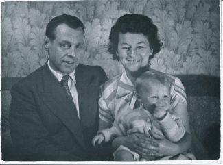 Vin, Beryl & Ray Stroud c.1952