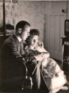 Vin & Beryl Stroud, Ferndale, Topsham Road c.1949