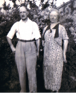 Winifred Archibald's Grandad and Nan - William and Winifred Sumpter