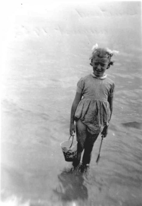 6.  Nina paddling at Southend 1952. | Nina Humphrey