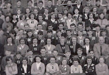Laindon High Road School 1956