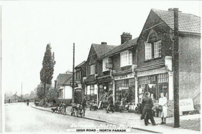 North Parade Shops 1940s.