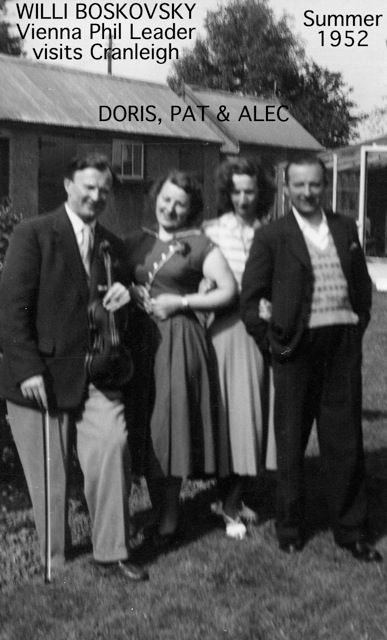 1952-Boskovsky and my aunt Doris (still alive living in Adelaide), my mother (who lives in Hastings) and my father who died in 1976 | John Geogiadis