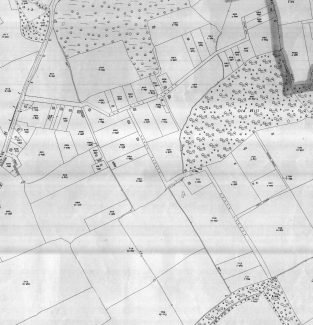 Map of Old Hill Avenue - revised 1939 | Ordinance Survey Office - Click to enlarge