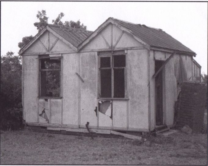 One of the last of the original bungalows, Hillcrest Avenue. 1950