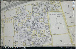 Colony View Road.  'Elsa Villa' is plot No. 58. | BDC 1949 Survey.