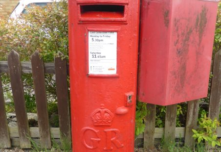 GR Post Boxes