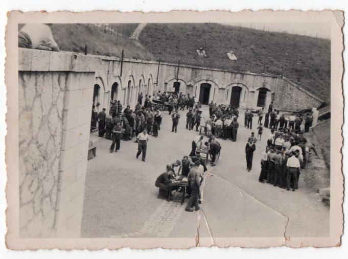 POW camp Nice, France. | John Devine.