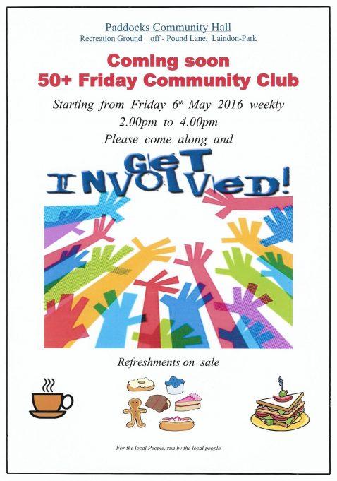 50+ Friday Community Club