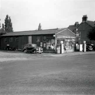 Parkinson's Garage and Somerset Road | Ken Bird
