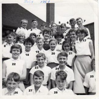 Laindon School Dancing Group | Patsy Mott née Tyler