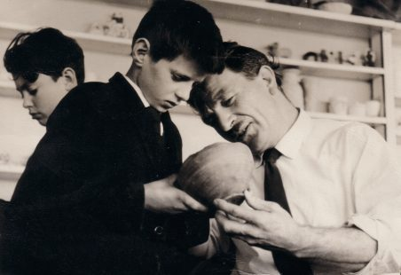 Mr Miniken and a Roman Pot