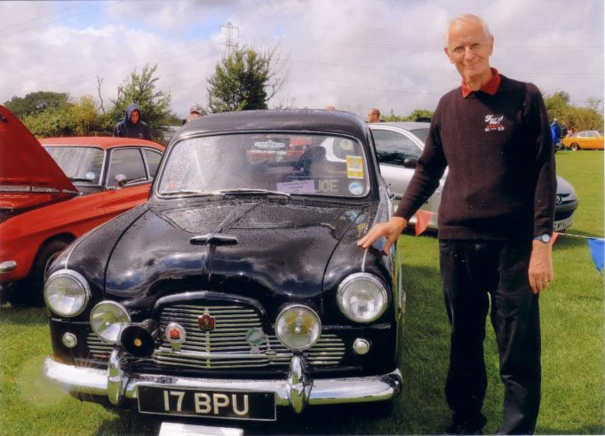 Peter Sloper and his vehicles. | Peter Sloper